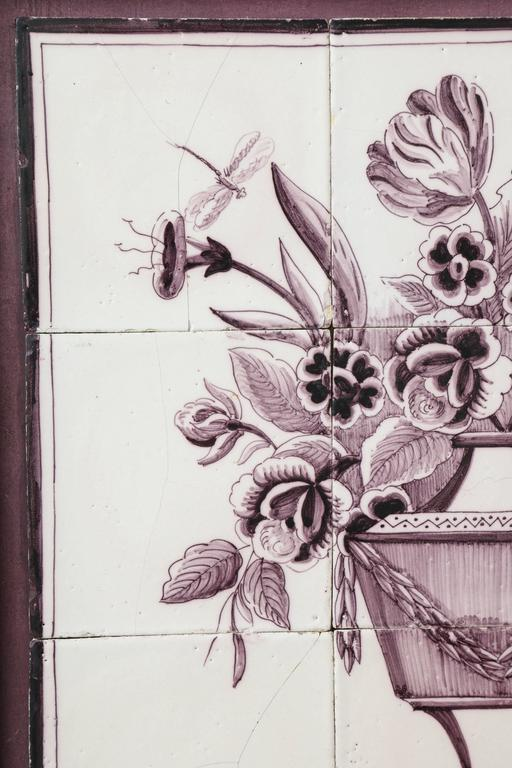 Late 18th Century Dutch Delft Tile Picture 3