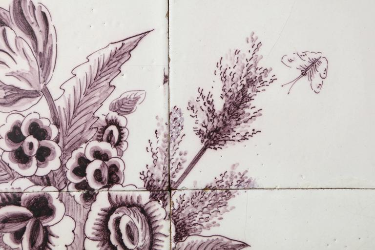 Late 18th Century Dutch Delft Tile Picture 4