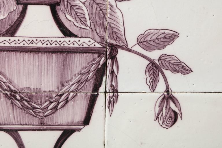 Late 18th Century Dutch Delft Tile Picture 5