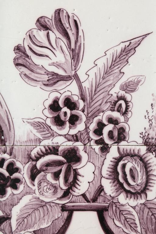 Late 18th Century Dutch Delft Tile Picture 6