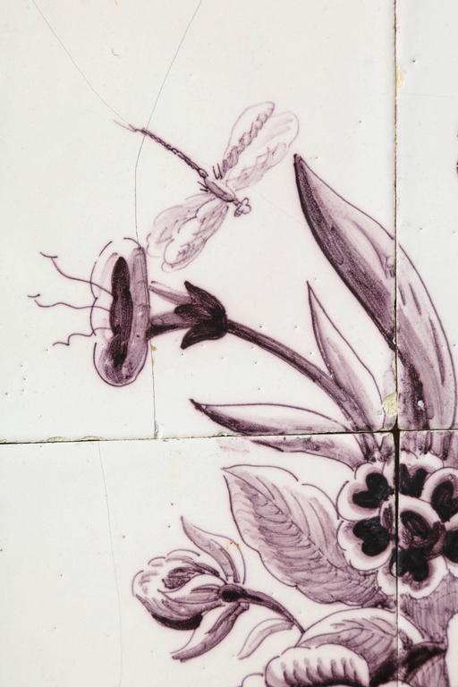 Late 18th Century Dutch Delft Tile Picture 9