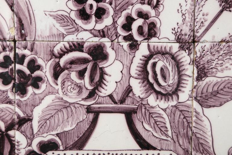 Late 18th Century Dutch Delft Tile Picture 10