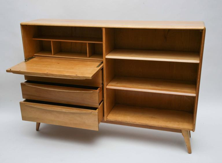 Heywood Wakefield Cabinet Or Desk 1960s Usa At 1stdibs