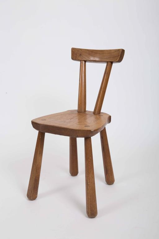 Rustic Wooden Side Chairs 4