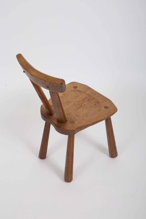 Rustic Wooden Side Chairs 7