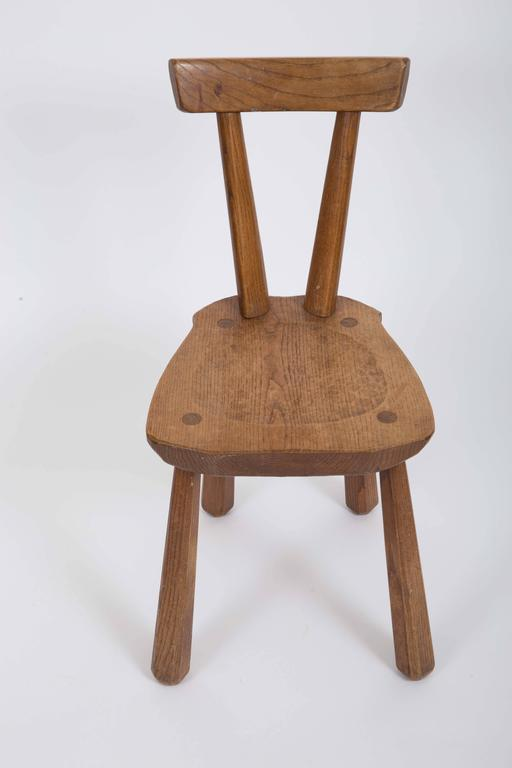 Rustic Wooden Side Chairs 10