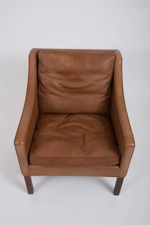 Pair of Børge Mogensen Leather Chairs 5