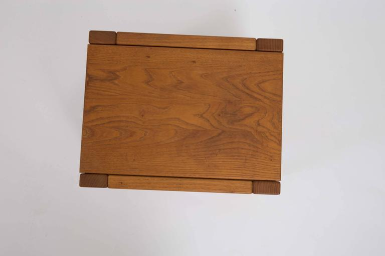 Wooden Side Table by Pierre Chapo 5