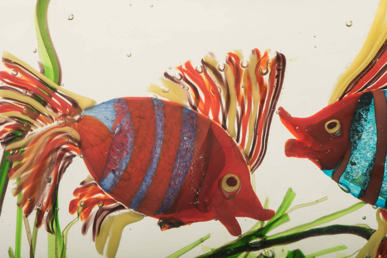 Large Murano Glass Aquarium by Gino Cenedese at 1stdibs