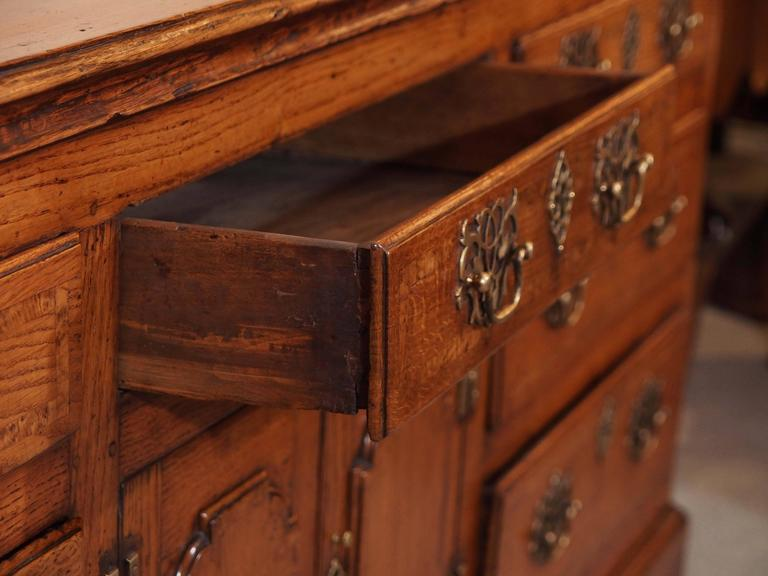 Antique English Dresser Base 6