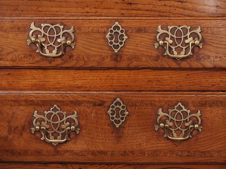 Antique English Dresser Base 7