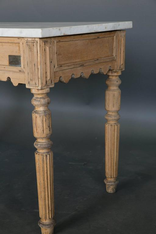 19th Century French Patisserie Table 7