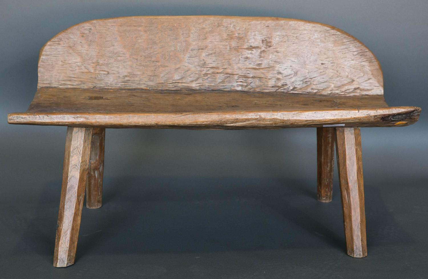 Antique 18th Century Primitive Bench From Spanish Pyrenees For Sale At 1stdibs