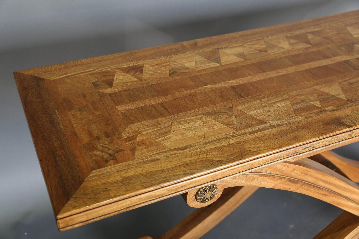 Vintage Maitland Smith X Console Table For Sale At 1stdibs