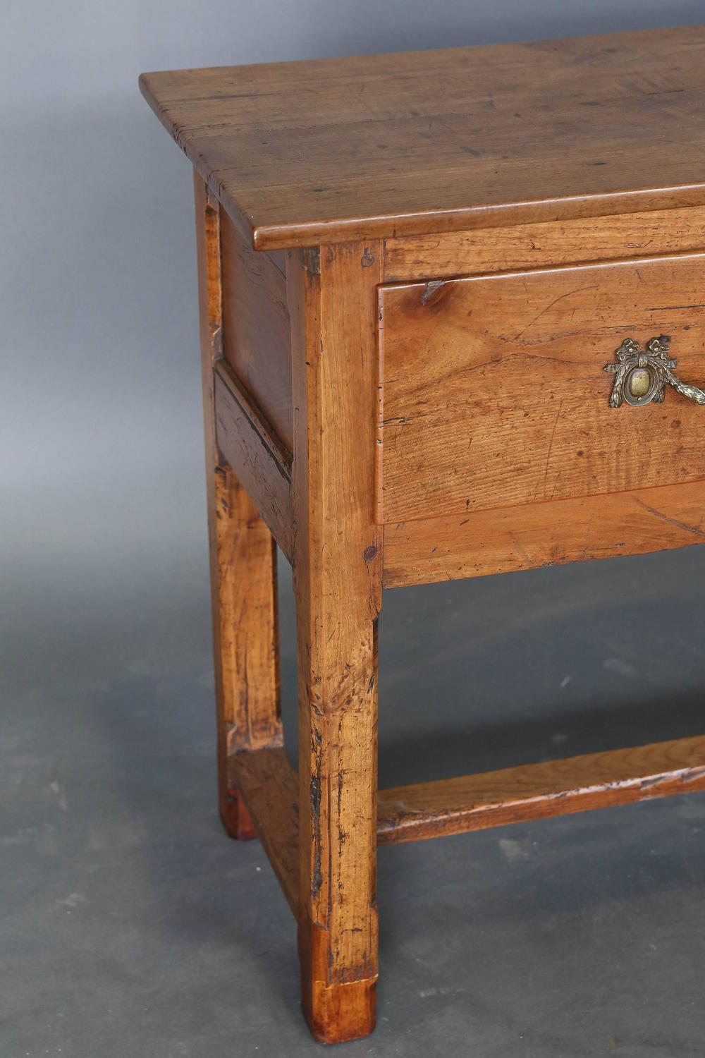 Antique 19th Century Narrow Console or Sofa Table For Sale