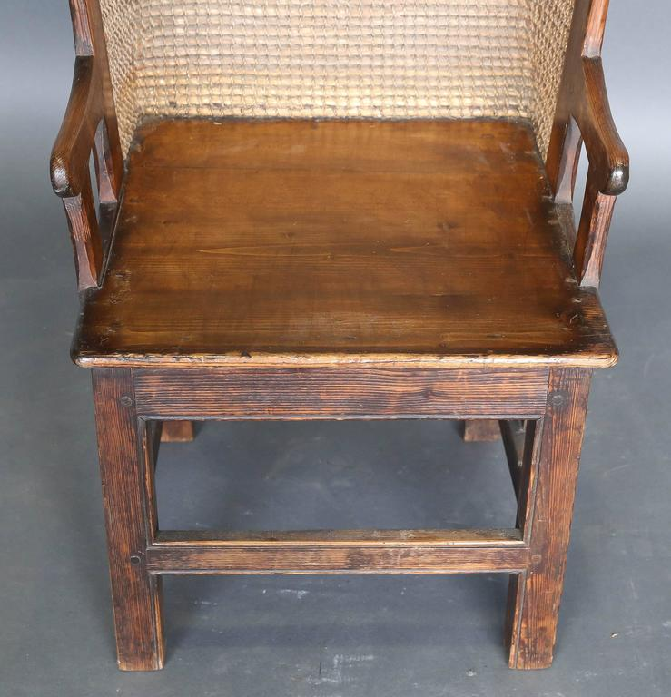 Antique 19th Century Child's Orkney Chair In Excellent Condition For Sale  In Houston, ... - Antique 19th Century Child's Orkney Chair For Sale At 1stdibs