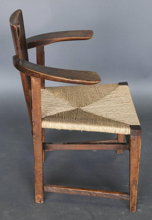 Antique 19th Century Ash Abingwood Chairs by George Walton In Excellent Condition For Sale In Houston, TX