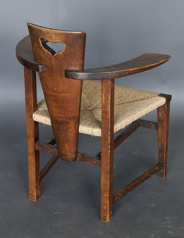 Late 19th Century Antique 19th Century Ash Abingwood Chairs by George Walton For Sale