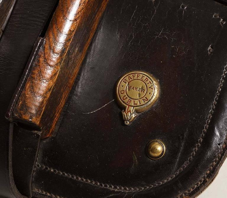Late 19th Century Irish Pony Saddle For Sale