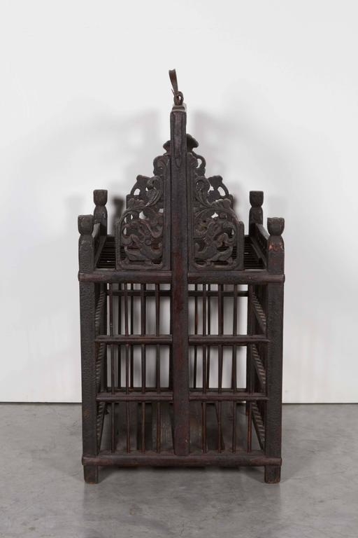 Late 19th Century 19th Century Chinese Birdcage For Sale
