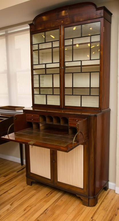 19th Century Secretaire Bookcase 3