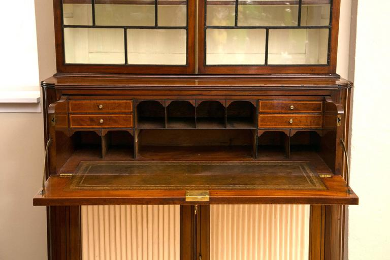 19th Century Secretaire Bookcase 6