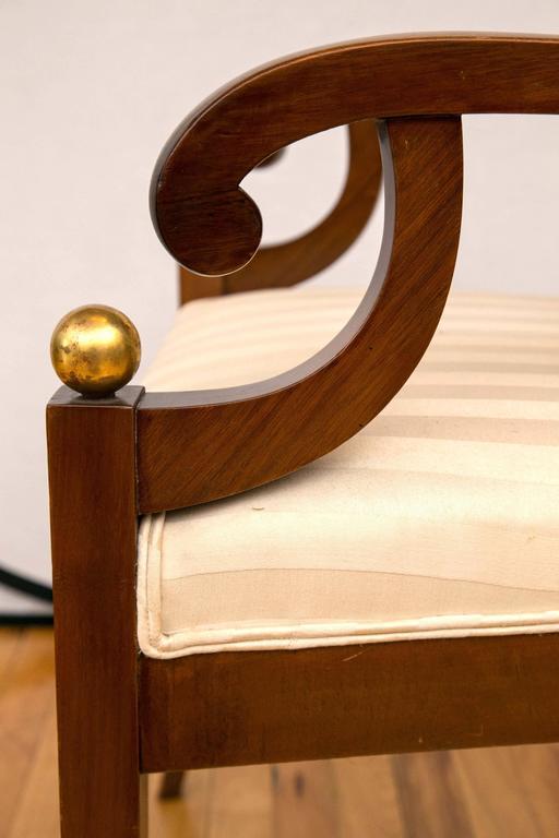Pair of Swedish Biedermeier Armchairs For Sale 2