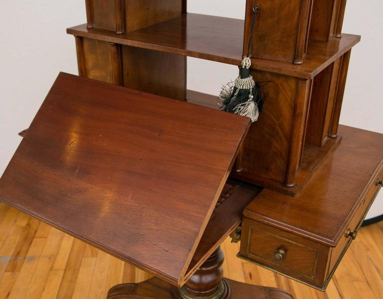 Early 19th Century Regency Period Mahogany Bonheur du Jour Desk For Sale
