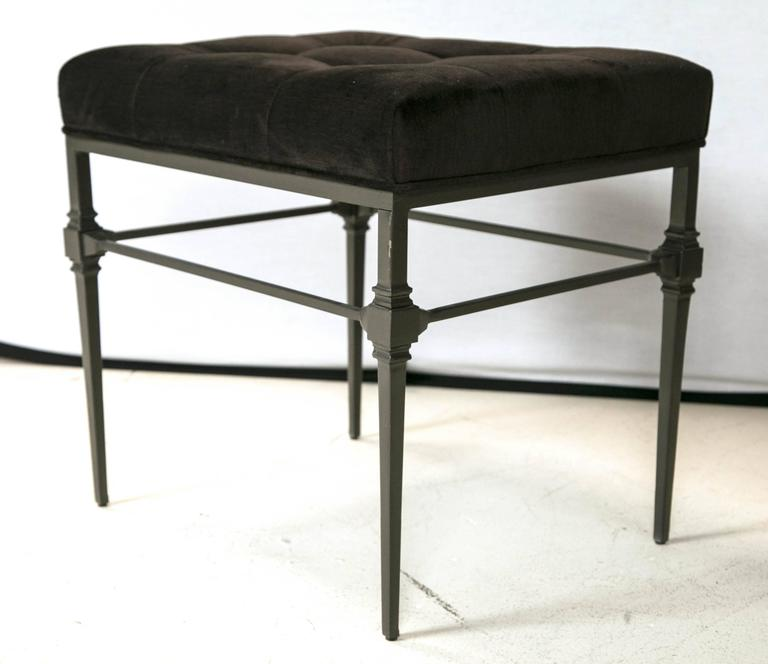 Wrought Iron Benches Or Stools At 1stdibs