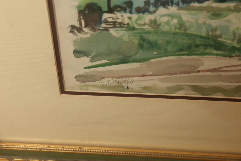Spanish Ricardo Macarrón Painting For Sale