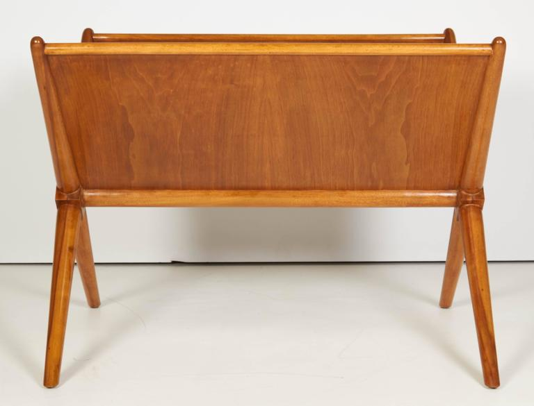 Hand-Crafted Magazine Table by T.H. Robsjohn-Gibbings, C 1950 For Sale