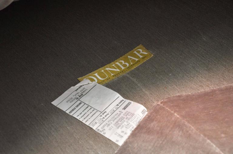 "Dunbar ""Janus Sofa"" by Edward Wormley For Sale 1"