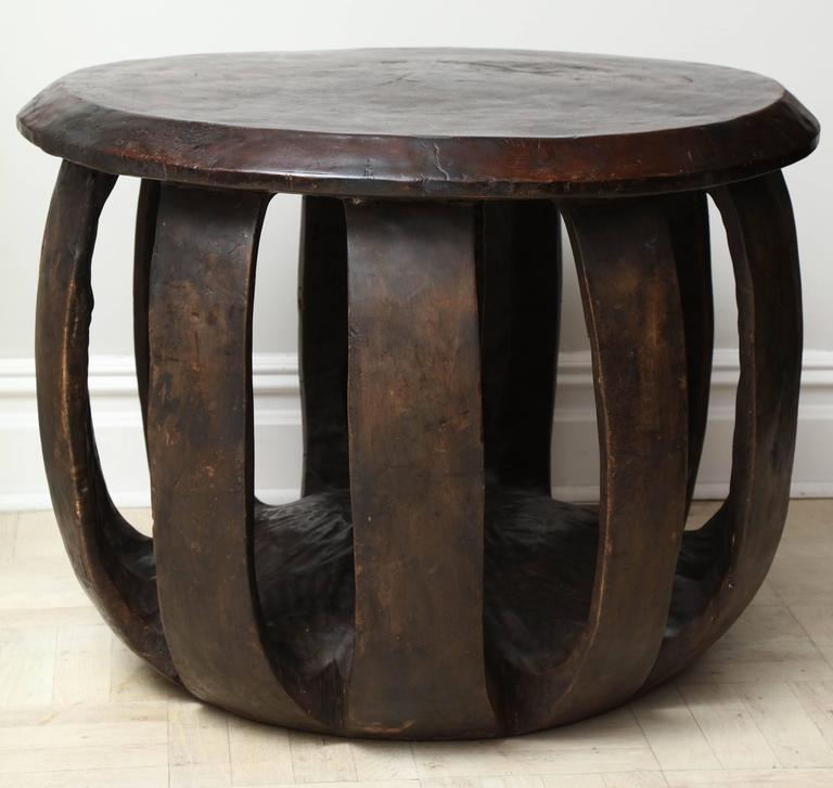 Circular African Table For Sale At 1stdibs