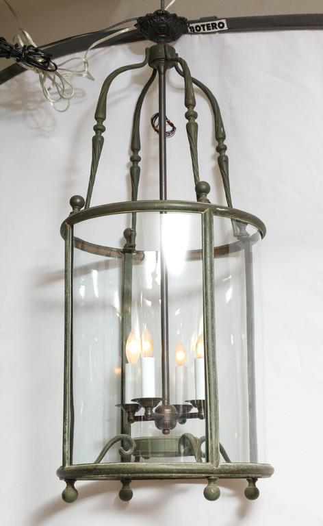 19th century cylindrical lantern handpicked by buyers at Ann-Morris Inc.