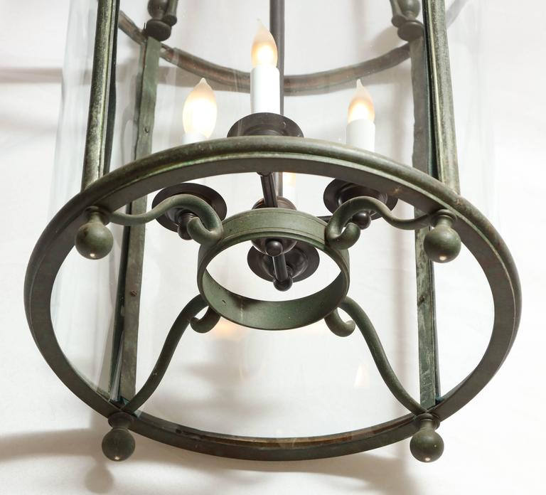 19th Century Cylindrical Lantern For Sale 3