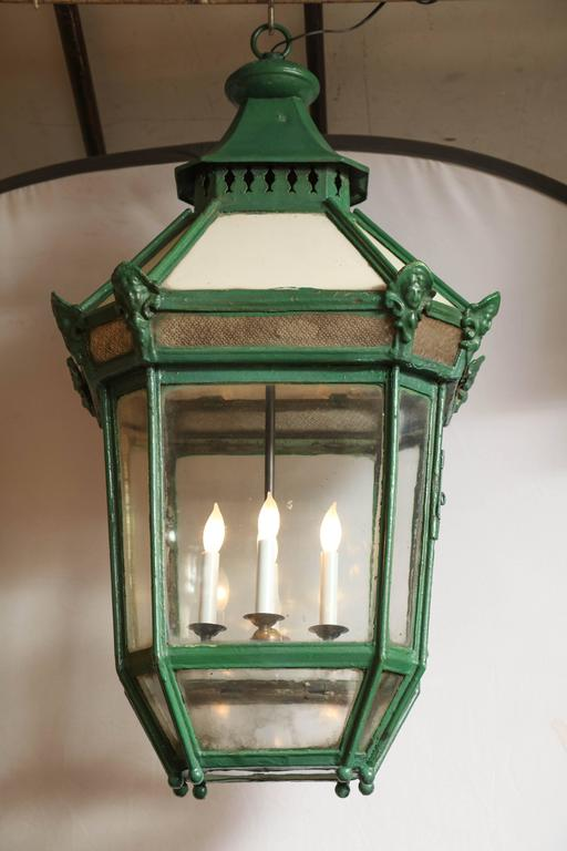 19th Century Exterior Lantern from England 2