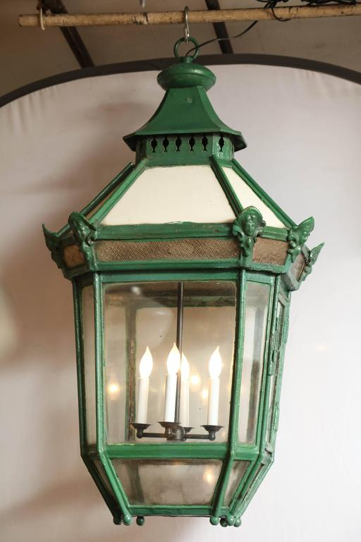 19th Century Exterior Lantern from England 3