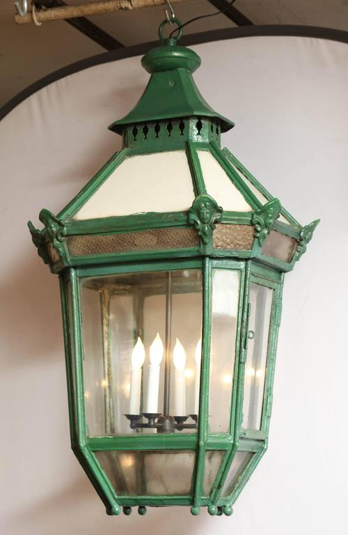 19th Century Exterior Lantern from England 4