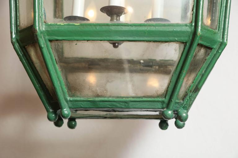 19th Century Exterior Lantern from England 7