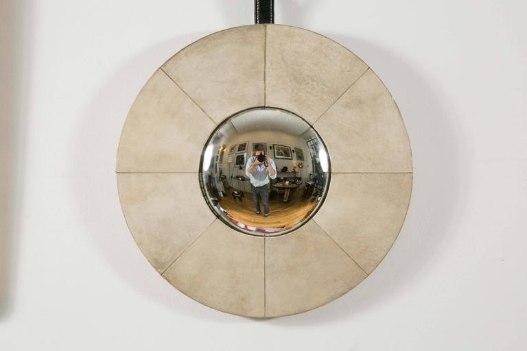 Eccentric mirror (also known as convex mirror or witch mirror -