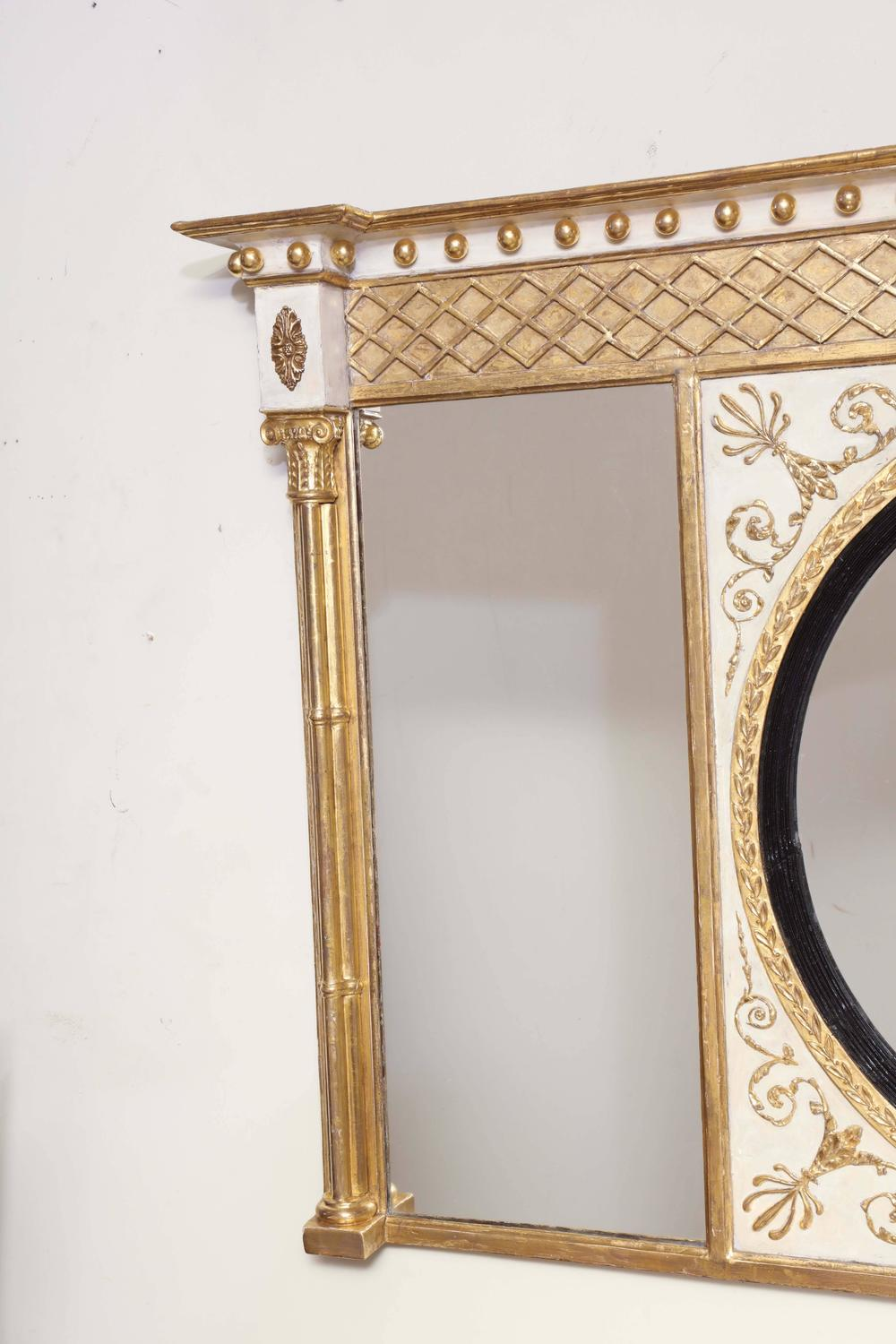Fine Regency Gilt Over Mantle Mirror For Sale At 1stdibs