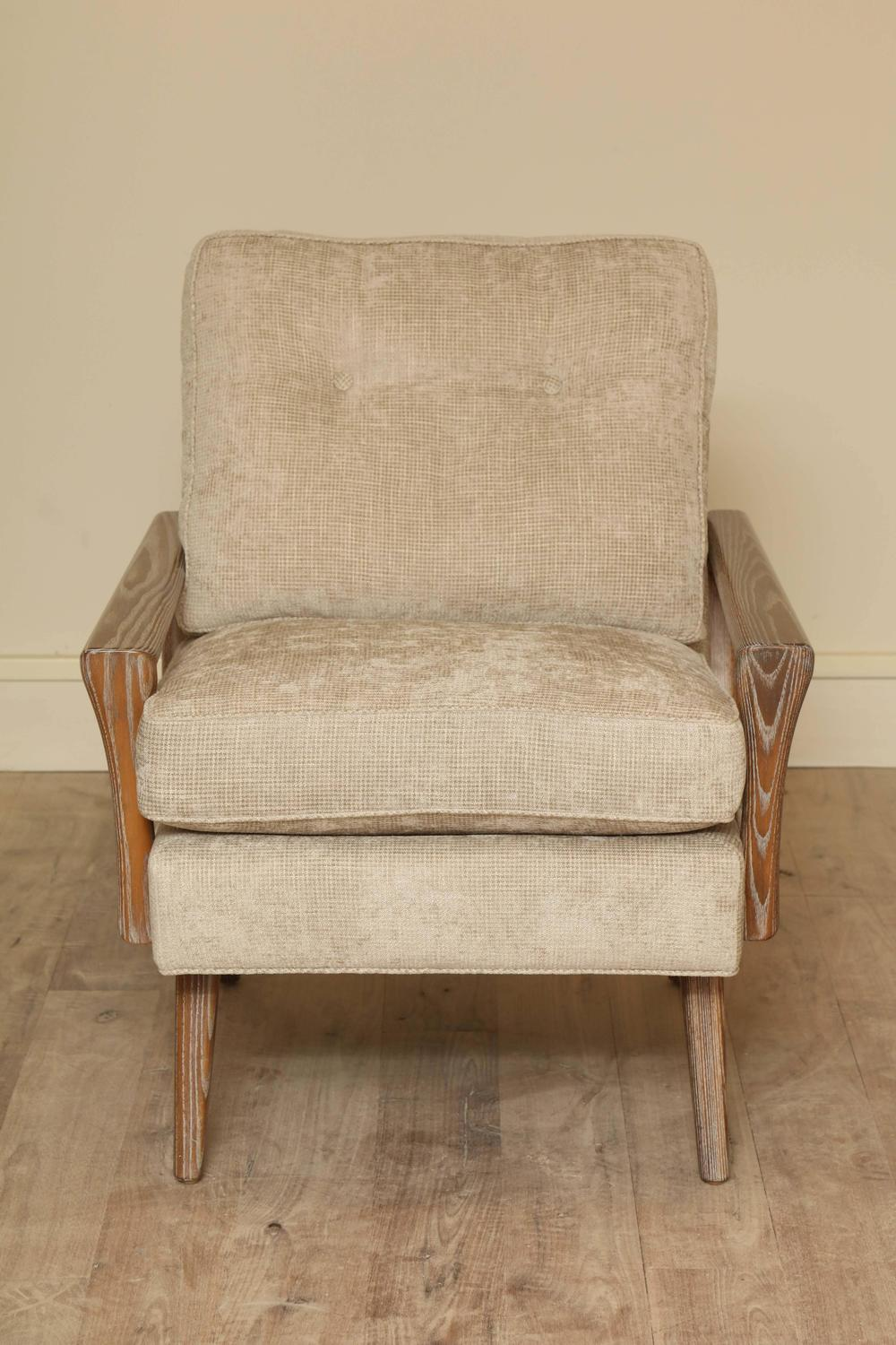 Cerused Club Chairs At 1stdibs