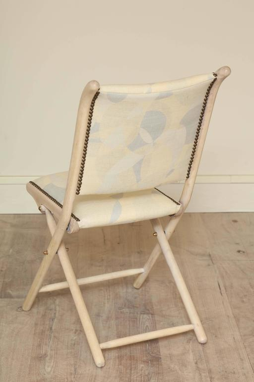 Pair Of Folding Chairs At 1stdibs
