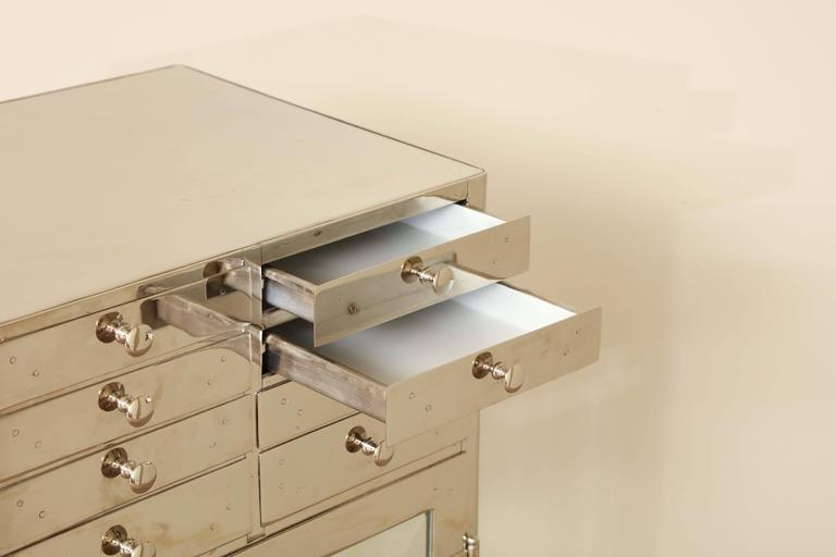 Industrial Chrome Cabinet 3
