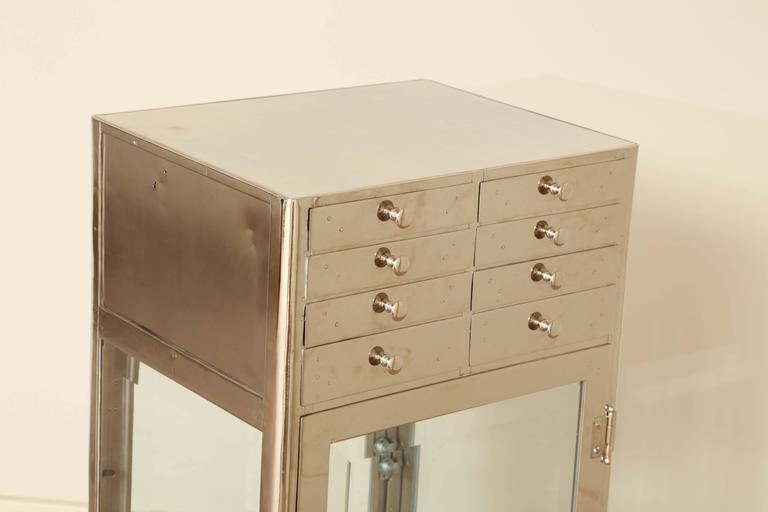 Industrial Chrome Cabinet 4