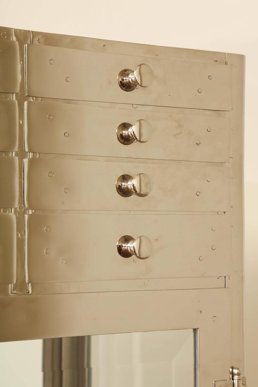 Industrial Chrome Cabinet 8
