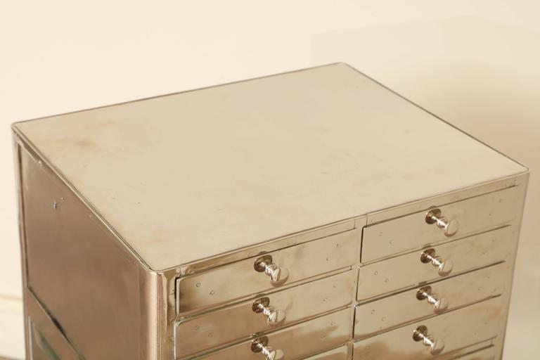 Industrial Chrome Cabinet 9