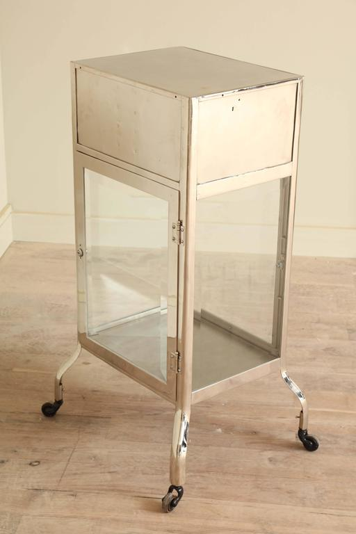 Industrial Chrome Cabinet For Sale 5