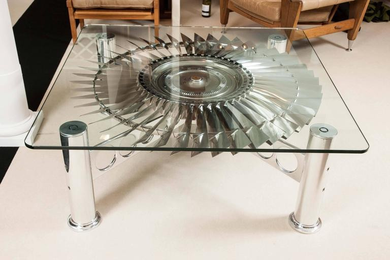 Rolls royce quot pegasus quot turbine table for sale at 1stdibs