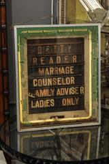family advisor neon sign